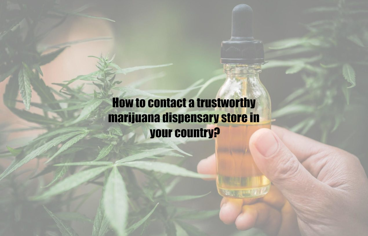 How to contact a trustworthy marijuana dispensary store in your country?